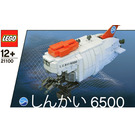 LEGO Shinkai 6500 Submarine Set 21100 Instructions