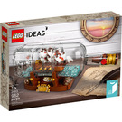 LEGO Ship in a Bottle Set 21313 Packaging