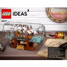 LEGO Ship in a Bottle Set 92177 Instructions