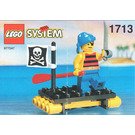 LEGO Shipwrecked Pirate Set 1713-1