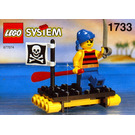 LEGO Shipwrecked Pirate Set 1733-1
