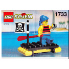 LEGO Shipwrecked Pirate Set 1733 Instructions