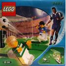 LEGO Shoot 'n' Score Set (with ZIDANE / Adidas Minifigure) 3401-2