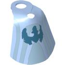 LEGO Shoulder Cloth Light Blue (10716)