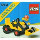 LEGO Shovel Truck Set 6603
