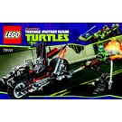 LEGO Shredder's Dragon Bike Set 79101 Instructions