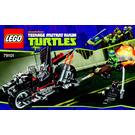 LEGO Shredder's Dragon Bike Set 79101 Instructions