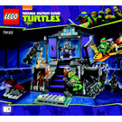 LEGO Shredder's Lair Rescue Set 79122 Instructions