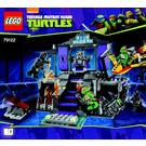 LEGO Shredder's Lair Rescue Set 79122 Instructions