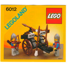 LEGO Siege Cart Set 6012 Instructions