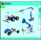 LEGO Simple & Powered Machines Set 9686-1 Instructions