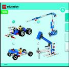 LEGO Simple & Powered Machines Set 9686 Instructions