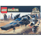 LEGO Sith Infiltrator Set 7151 Instructions