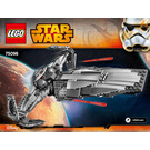 LEGO Sith Infiltrator Set 75096 Instructions