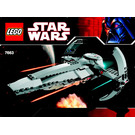 LEGO Sith Infiltrator Set 7663 Instructions
