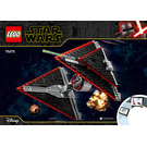 LEGO Sith TIE Fighter Set 75272 Instructions