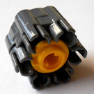 LEGO Six Shooter Assembly with Yellow Trigger