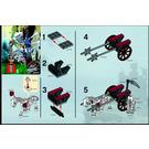 LEGO Skeleton Chariot Set 5372 Instructions