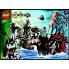 LEGO Skeleton Ship Attack Set 7029 Instructions