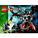 LEGO Skeleton Tower Set 7093 Instructions
