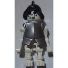 LEGO Skeleton with armour and Conquistador Helmet Minifigure