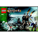 LEGO Skeletons' Prison Carriage Set 7092 Instructions