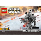 LEGO Ski Speeder vs. First Order Walker Microfighters Set 75195 Instructions