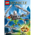 LEGO Skull Slicer Set 70792 Instructions