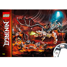 LEGO Skull Sorcerer's Dragon Set 71721 Instructions