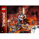 LEGO Skull Sorcerer's Dungeons Set 71722 Instructions