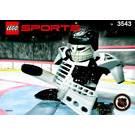 LEGO Slammer Goalie Set 3543 Instructions