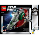 LEGO Slave I - 20th Anniversary Edition Set 75243 Instructions