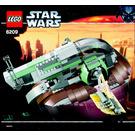 LEGO Slave I Set 6209 Instructions