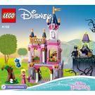 LEGO Sleeping Beauty's Fairytale Castle Set 41152 Instructions