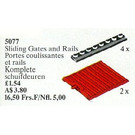 LEGO Sliding Gates and Rails Set 5077