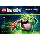 LEGO Slimer Fun Pack Set 71241 Instructions