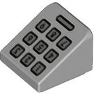 LEGO Slope 1 x 1 (31°) with Number keypad (18862 / 33380)