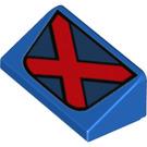 LEGO Slope 1 x 2 (31°) with Decoration (29206 / 85984)