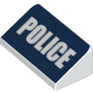 LEGO Slope 1 x 2 (31°) with Police (19647 / 85984)
