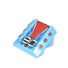 """LEGO Slope 1 x 2 x 2 with Flanges and Pistons with """"80"""" (30603)"""
