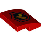 LEGO Slope 2 x 2 Curved with Fire Logo (15068 / 24410)