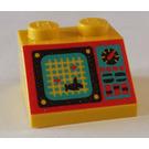 LEGO Slope 45° 2 x 2 with Decoration (3039)