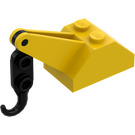 LEGO Slope 45° 2 x 3 x 1 & 1/3 Double with Black Hook (3135)