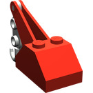 LEGO Slope 45° 2 x 3 x 1 & 1/3 Double with Light Gray Hook (3135)
