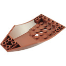 LEGO Slope Curved 6 x 10 x 2 Inverted (47406)