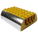 LEGO Slope Curved 6 x 8 x 2 Double with Decoration (45411)
