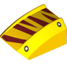 LEGO Slope Curved Top 2 x 2 x 1 with Decoration (73798)