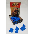 LEGO Sloping Ridge and Valley Bricks Set (Blue) 283