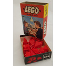 LEGO Sloping Ridge and Valley Bricks Set (Red) 283-1