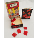 LEGO Sloping Roof Bricks 2 x 2 Set (Red) 282-1